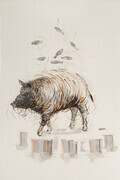 Boar and Fish I